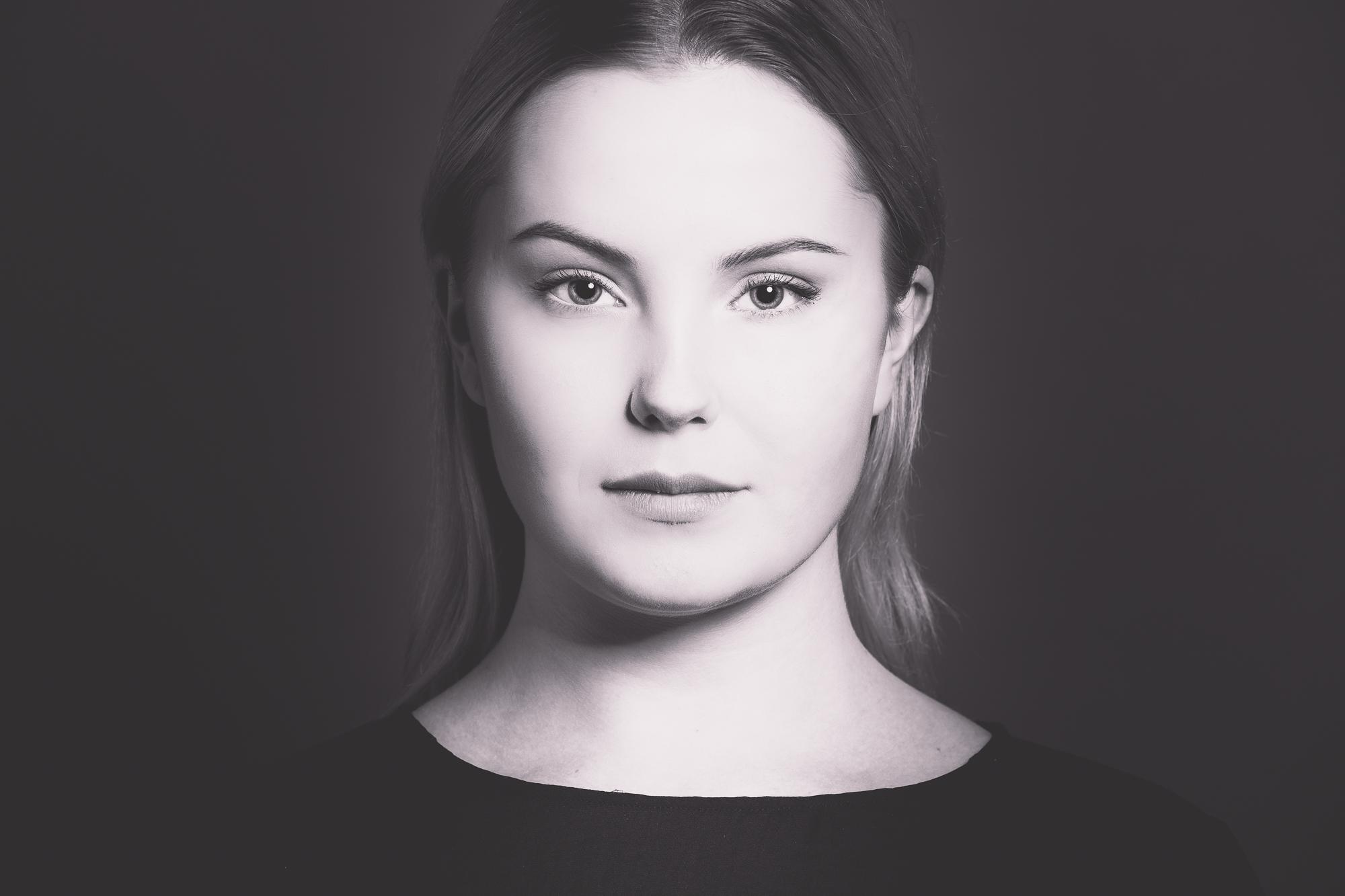Porträttfoto i studio